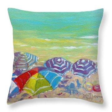Beach Is Best Throw Pillow