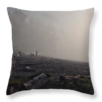 Beach Mist  Throw Pillow