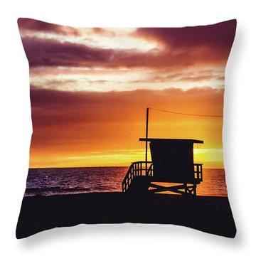 Beach Paradise Throw Pillow