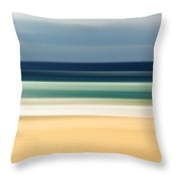 Beach Pastels Throw Pillow