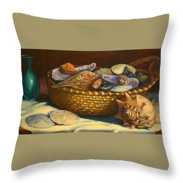 Beach Peace Throw Pillow