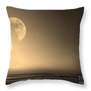 Beach Planet Series V Throw Pillow