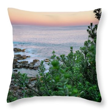 Beach Retreat Throw Pillow