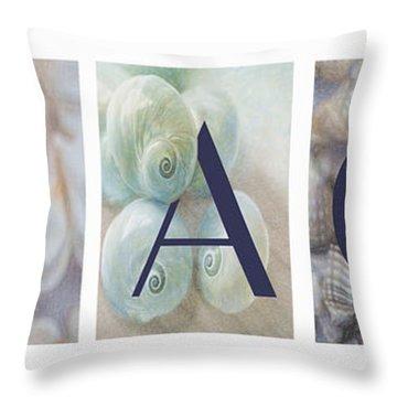 Throw Pillow featuring the photograph Beach by Robin-Lee Vieira