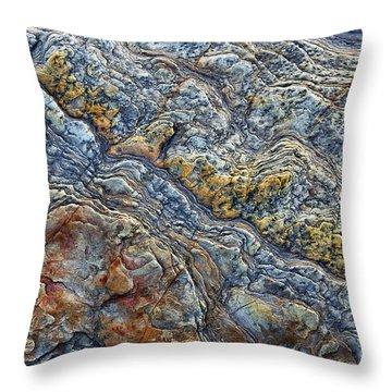 Beach Rock Pattern  Throw Pillow