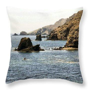 Cabo De Gata Almeria Throw Pillow