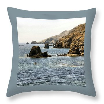 Cabo De Gata Almeria Throw Pillow