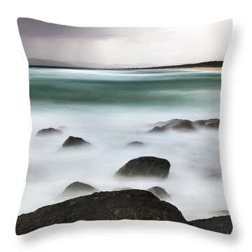 Beach Squall Throw Pillow
