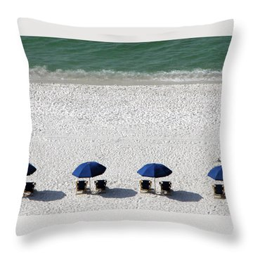 Throw Pillow featuring the photograph Beach Therapy 2 by Marie Hicks