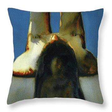 Beach Two Throw Pillow