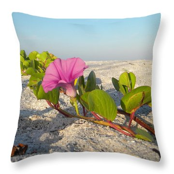 Beach Vine Throw Pillow
