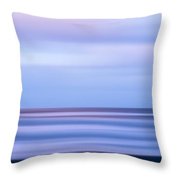 Beach X Throw Pillow