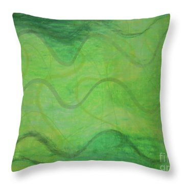 Beachday Throw Pillow