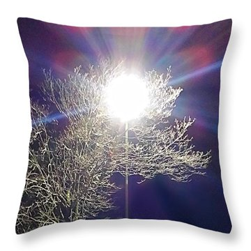 Beacon In The Night Throw Pillow
