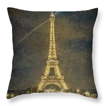 Paris, France - Beacon Throw Pillow