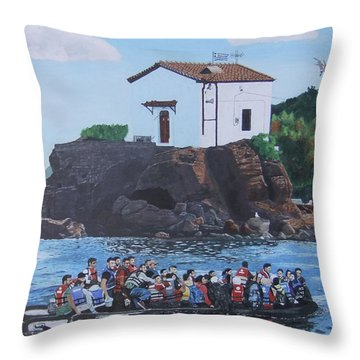 Beacon Of Hope Throw Pillow by Eric Kempson