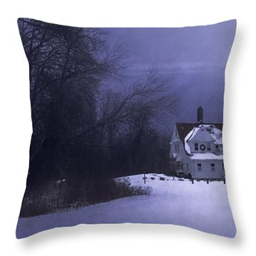 Beacon Throw Pillow by Scott Norris