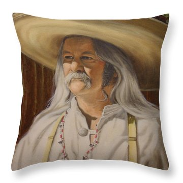 Bead Guy Throw Pillow