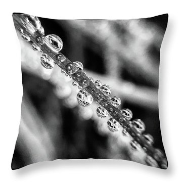 Beaded Chive Throw Pillow
