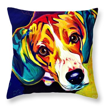 Beagle - Bailey Throw Pillow