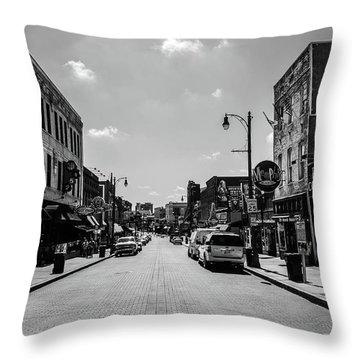 Beale Street Basics Throw Pillow
