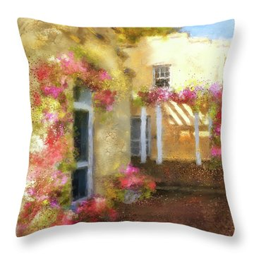 Beallair In Bloom Throw Pillow