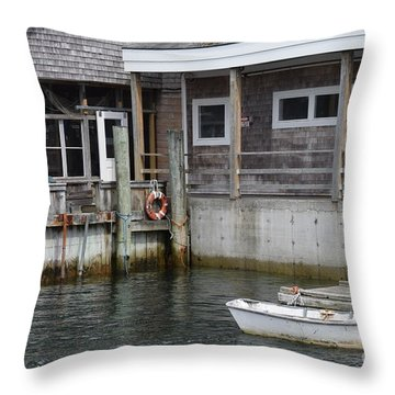 Beals Lobster Pound Throw Pillow