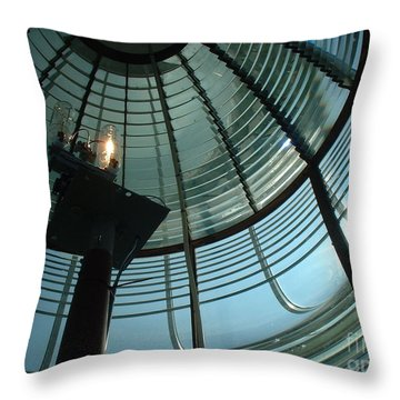 Throw Pillow featuring the photograph Beam Master by Mark Robbins
