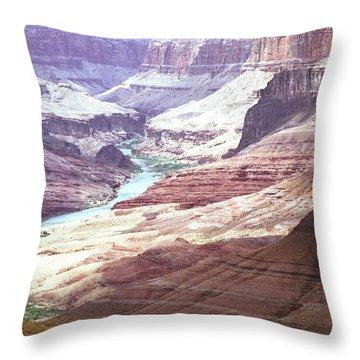 Beamer Trail, Grand Canyon Throw Pillow