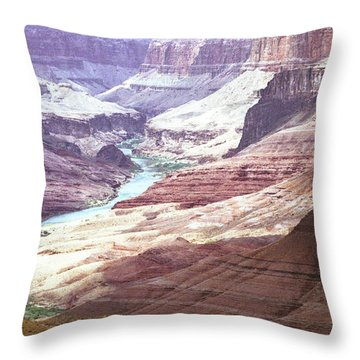 Beamer Trail, Grand Canyon Throw Pillow