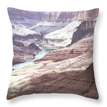 Beamer Trail Grand Canyon Throw Pillow