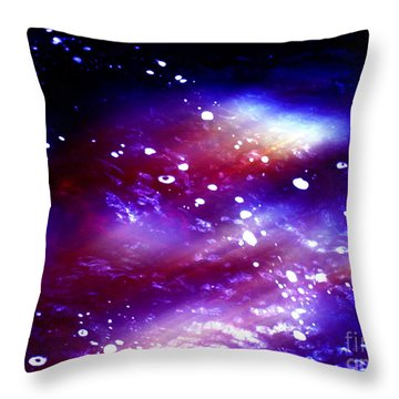 Beaming Light Throw Pillow