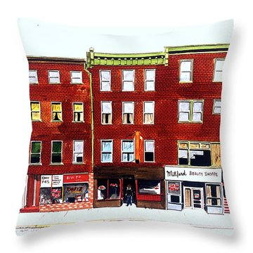 Bean Pies Throw Pillow