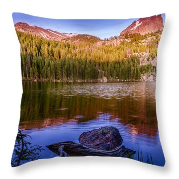 Bear Lake 1 Throw Pillow