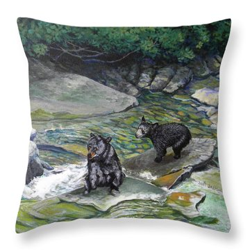 Bear Creek Throw Pillow