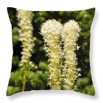 Bear Grass Throw Pillow