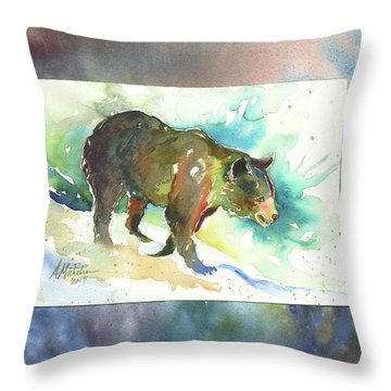 Bear I Throw Pillow