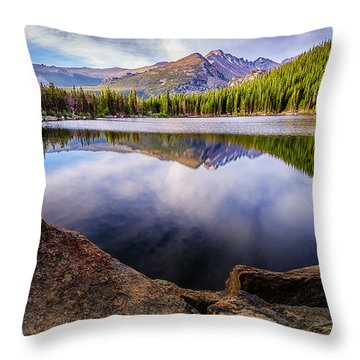 Bear Lake 3 Throw Pillow