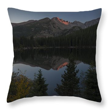 Bear Lake Throw Pillow by Gary Lengyel