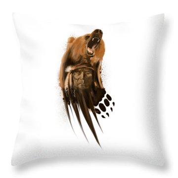 Black Bear Throw Pillows