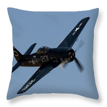Bearcat Throw Pillow