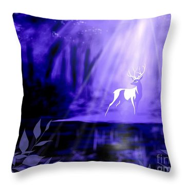 Bearer Of Wishes Throw Pillow