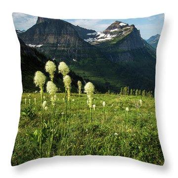 Beargrass - Glacier Np Throw Pillow