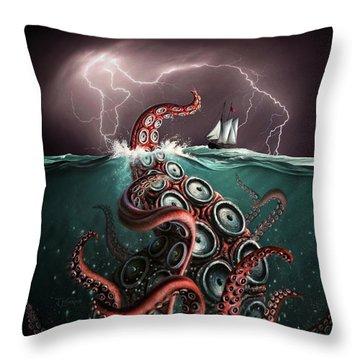 Beast 2 Throw Pillow