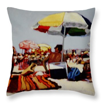 Beastly Hot Throw Pillow
