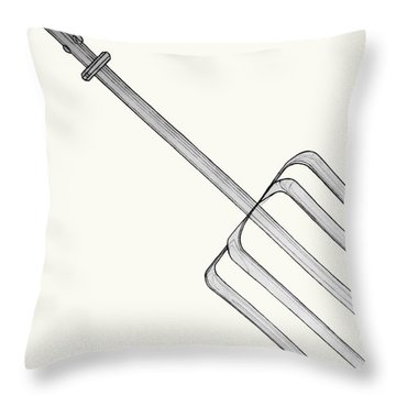 Beat It Throw Pillow by Jean Haynes