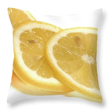 Beat The Heat With Refreshing Fruit Throw Pillow