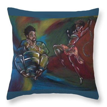 Beat To A Different Drum Throw Pillow