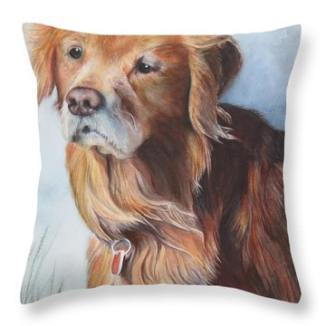 Beau Throw Pillow