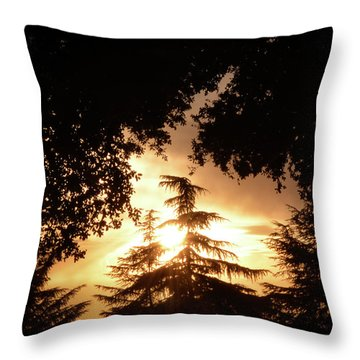 Beaumont Sunset Throw Pillow